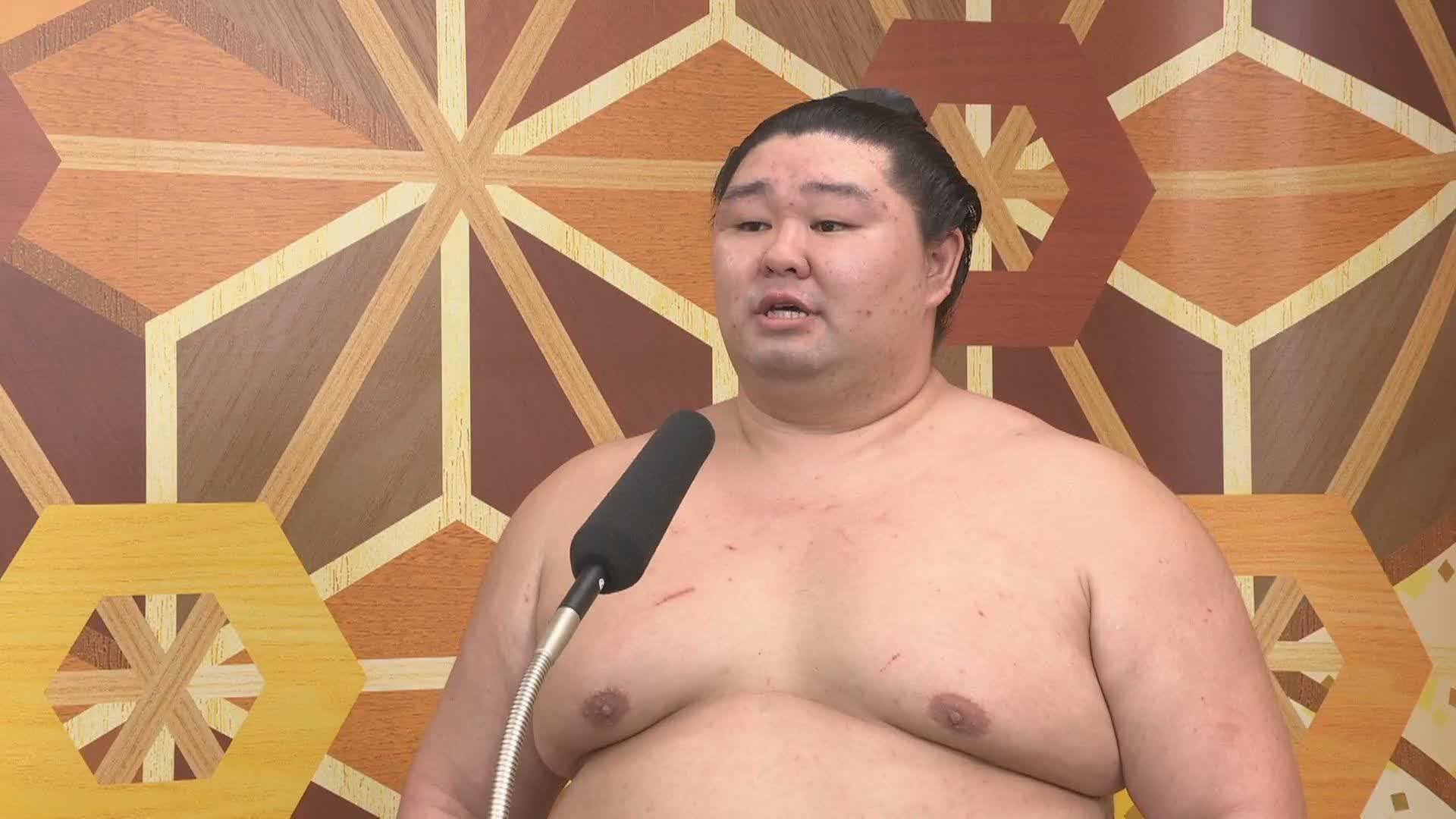 大相撲秋場所 正代 優勝インタビュー